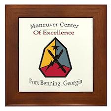 Maneuver Center of Excellence Framed Tile