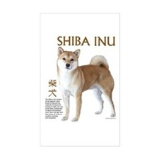 SHIBA INU Rectangle Decal