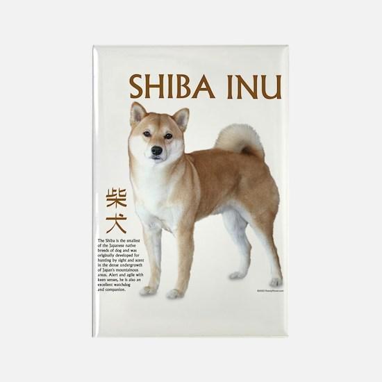 SHIBA INU Rectangle Magnet
