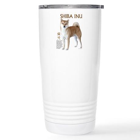 SHIBA INU Stainless Steel Travel Mug