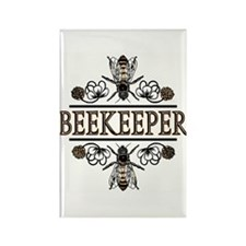 The Beekeeper Rectangle Magnet