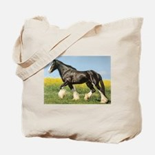 Shire Horse Lover Tote Bag