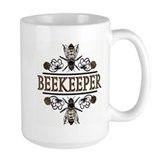 Bees Large Mugs (15 oz)