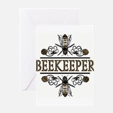 The Beekeeper Greeting Card