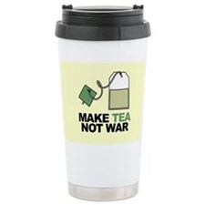 Make Tea Not War Travel Mug