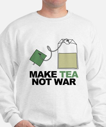 Make Tea Not War Jumper