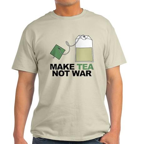 Make Tea Not War Light T-Shirt
