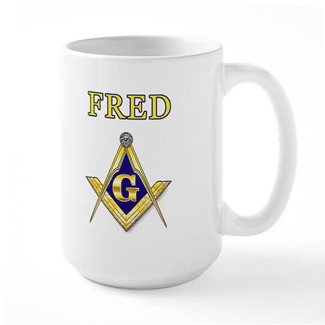 FRED Large Mug