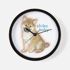 SHIBA BABY Wall Clock