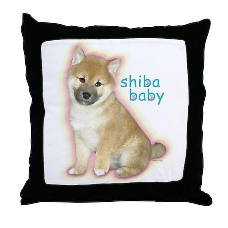 SHIBA BABY Throw Pillow