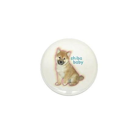 SHIBA BABY Mini Button
