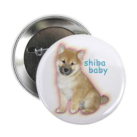 """SHIBA BABY 2.25"""" Button (10 pack)"""