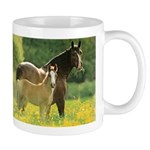 Welsh Cob Mare & Foal Horse Lover Coffee Mug