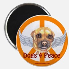 Dogs 4 Peace Magnet
