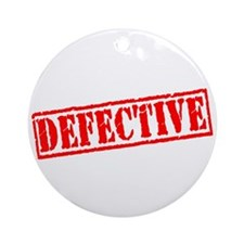 Defective Ornament (Round)