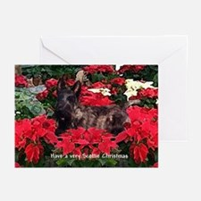 Scottish Terrier Scottie Christmas Greeting Cards