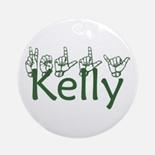 Kelly Ornament (Round)
