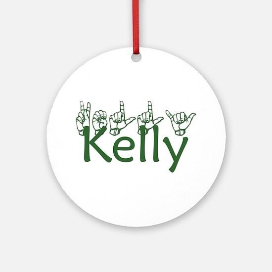 Kelly Ornament (Round)