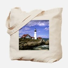 Maine Lighthouse Tote Bag