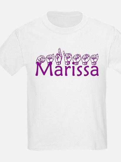 Marissa-txt T-Shirt
