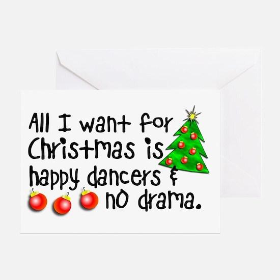 Dance Teacher Christmas Card