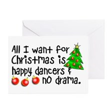 Dance Teacher Christmas Card (pack of 20)