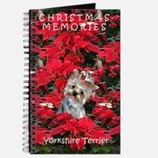 Yorkshire Terrier Yorkie Christmas Journal
