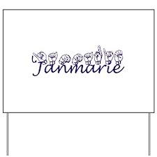 Janmarie Yard Sign