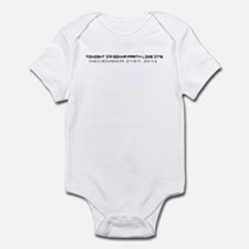 Cute 2012 doomsday Infant Bodysuit