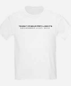 Funny 2012 end of world T-Shirt