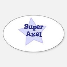Super Axel Oval Decal