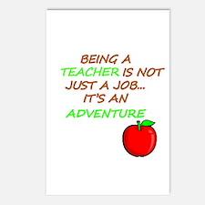 Unique My teacher rocks Postcards (Package of 8)