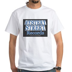 Mystery Street Records White T-Shirt