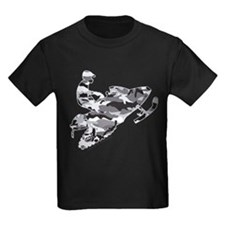 Camoflage Snowmobiler in Grey T