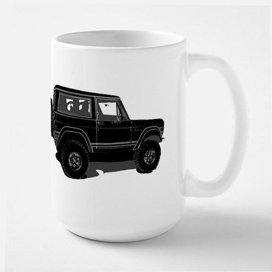 Classic Bronco Black Large Mug