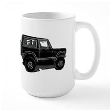 Classic Bronco Black Mug