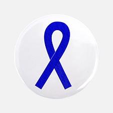 """Blue Ribbon 3.5"""" Button"""