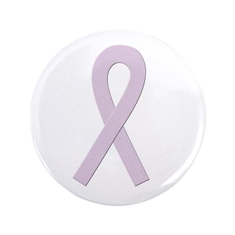 """Orchid Ribbon 3.5"""" Button (100 pack)"""