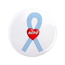 "Lt. Blue Hope 3.5"" Button"