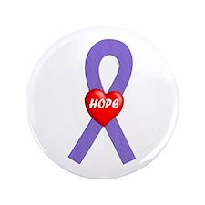 "Violet Hope 3.5"" Button"