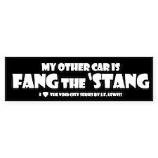 Fang the Stang Bumper Bumper Sticker