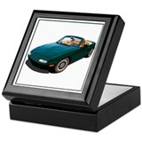Miata Square Keepsake Boxes