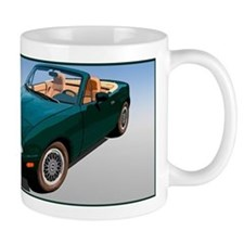 miata-green-bev Mugs