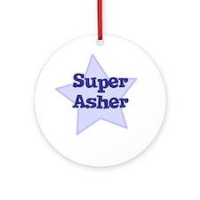 Super Asher Ornament (Round)