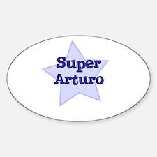 Super Arturo Oval Decal