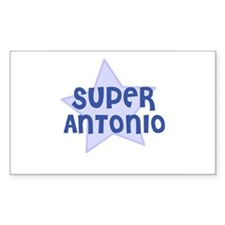 Super Antonio Rectangle Decal