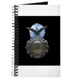The police air force Journals & Spiral Notebooks