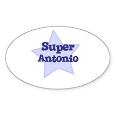 Super Antonio Oval Decal