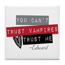 Unique Vampires heart me Tile Coaster
