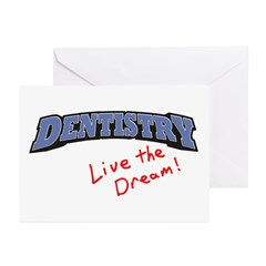 Dentistry - LTD Greeting Cards (Pk of 20)